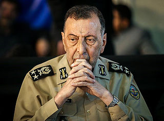 Mohammad Salimi Commander-in-chief of the Iranian Army