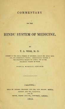 Commentary on the Hindu System of Medicine.djvu