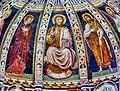 Como Basilica di Sant'Abbondio Interno Coro Affreschi 4.jpg