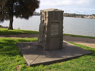 Concord, New South Wales - Image: Concord Canadian Exiles Monument