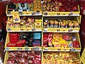 Confectionary and chocolate from Freia and Nidar displayed in Spar Supermarket in Tjøme, Norway 2018-12-16 C.jpg
