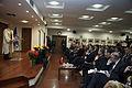 Conferencia del Presidente Rafael Correa en la Universidad de Ankara (6985903169).jpg