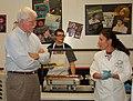 Congressman George Miller visit Mt. Diablo High School's Change the Food, Change Everything Program on February 23, 2012. (6926974165).jpg