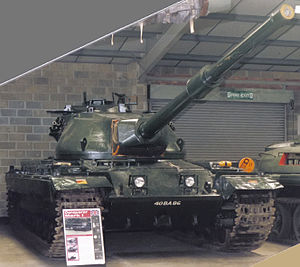 Conqueror Mk I at the Bovington Tank Museum