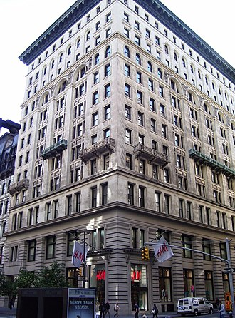 Arnold Constable & Company - The Constable Building at 109-11 Fifth Avenue