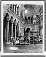 Constantinople. St. Sophia-interior, left of nave LCCN92514211.jpg