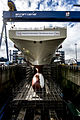 Construction of HMS Queen Elizabeth MOD 45157111.jpg