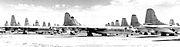 Convair B-36s at AMARC 1958 awaiting scrapping