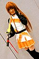 Cosplayer of Mirai Suenaga with Solar Marine uniform 20120803.jpg