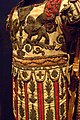 Costume Armor in the Classical Style French 1780 CE Linen papier-mache bole gold leaf graphite silk cotton metal coils and spangles metallic yarn Paris (676876091).jpg