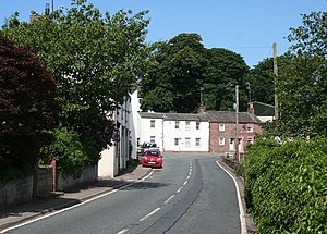 Holmrook - Image: Cottages by the A595 at Holmrook geograph.org.uk 843034