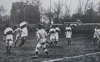 AS Cannes - Cannes and Olympique Lillois in the Coupe de France in 1920.