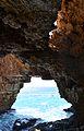 Cova dels Arcs o del Moraig, interior.JPG
