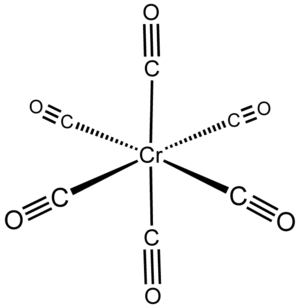 Chromium hexacarbonyl - Image: Cr(CO)6
