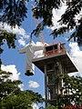 Cristo Salvador de Sertãozinho sendo içado para o pedestal em 24 de abril de 2013, depois de 5 anos do início da construção. No dia 29 de maio de 2014, o monumento religioso foi inaugurado. - panoramio.jpg