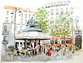 Croquis aquarellé- Lisbonne - Portugal - pr. Luis de Camões (7979609571).jpg