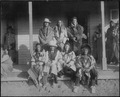Crow Tribe, Principal Chief (1. Pretty Eagle, Principal Chief,2. Bull Nose, 3. Spotted Horse, 4. Enemy Hunter, 5.... - NARA - 533060.tif