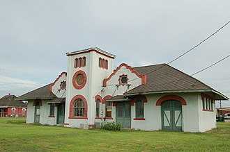 National Register of Historic Places listings in Acadia Parish, Louisiana - Image: Crowley Depot WM