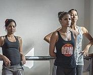Cuban dance troupe, Havana Jan 2014, image by Marjorie Kaufman