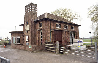 Somerset Levels - Curry Moor pumping station