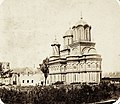 Curtea de Argeș 1909, Ortodox székesegyház. - Fortepan 75325.jpg