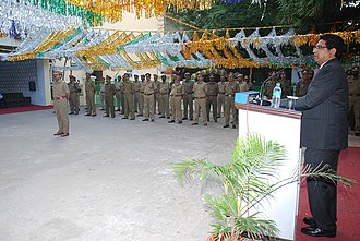 Central Board of Excise and Customs - Image: Customs & Central Officer on Republic Day