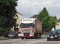 DAF XF ~ Wemhoff Transporte ~ Indestraße Eschweiler.JPG