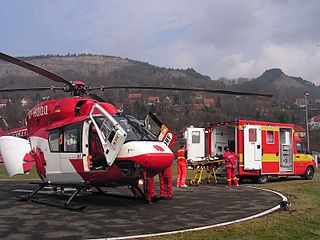 DRF Luftrettung Air rescue services company in Germany
