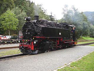 DRG Class 99.73–76 class of 32 German 750mm-gauge 2-10-2T locomotives