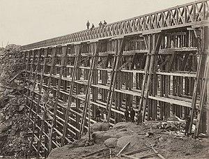 History of the Union Pacific Railroad - Dale Creek Bridge