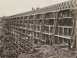 History of the Union Pacific Railroad - Dale Creek Bridge