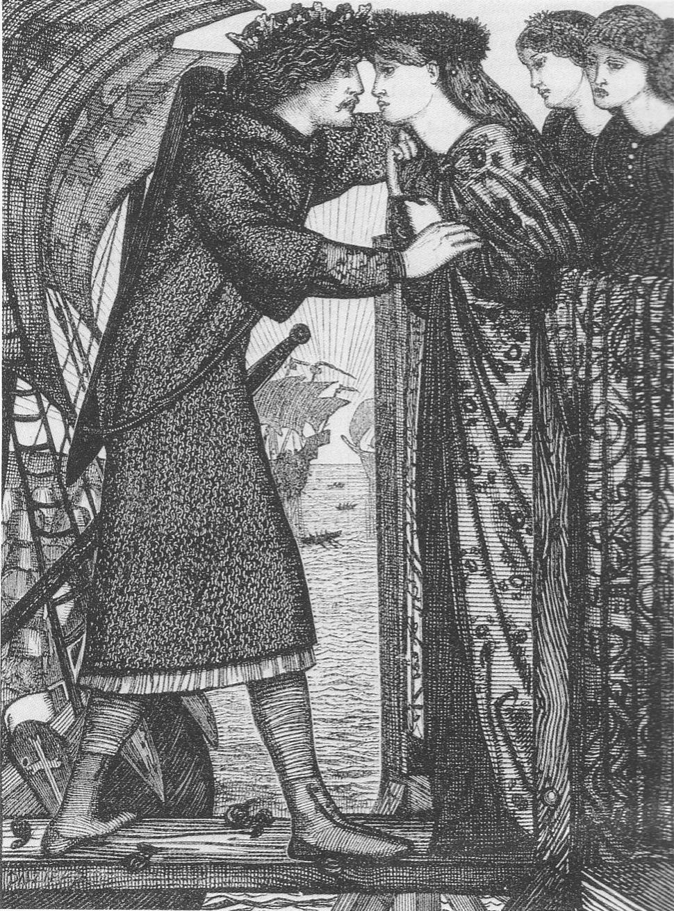 Dalziel Brothers after Edward Burne-Jones King Sigurd 1862