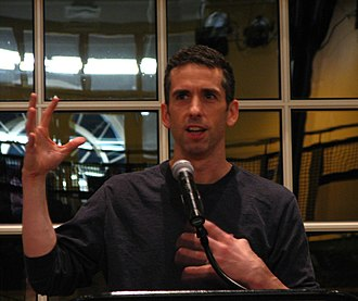 Dan Savage - Dan Savage speaking at Illinois Wesleyan University, 2007