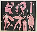 Dance scenes from ancient Greek vases (2) - Gironi Robustiano - 1820.jpg