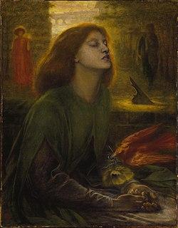 ROSSETTI Dante Gabriel Beata Beatrix 1864-1870