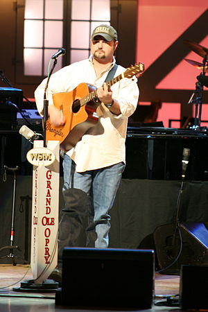 Daryle Singletary - Daryle Singletary at the Grand Ole Opry in 2007.