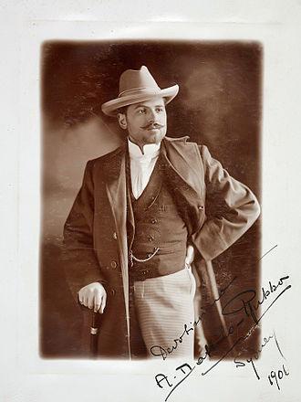 Antonio Dattilo Rubbo - Dattilo Rubbo in 1907.
