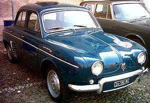 Renault Dauphine - Dauphine Alfa Romeo