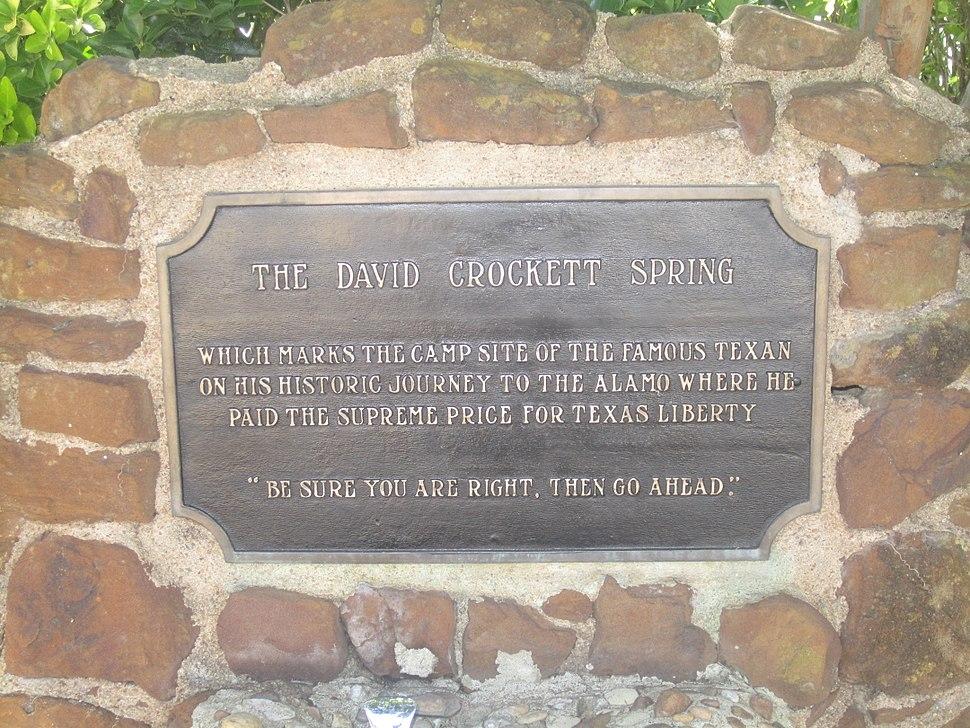 David Crockett Spring IMG 6242