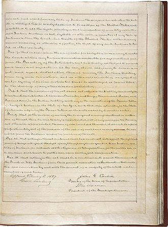 Dawes Act - The second page of the Dawes Act