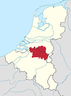 region in Belgium and the Netherlands