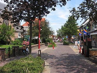 De Lier - Main street of De Lier.