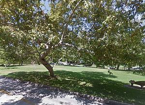 De Neve Square Park - Image: De Neve Square Park from N Beverly Glen Boulevard