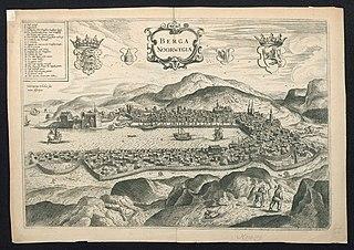 De Noorse stad Bergen