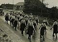 De groep deelneemsters van 'de Graal' onderweg op het parcours van 40 km tijdens – F40277 – KNBLO.jpg