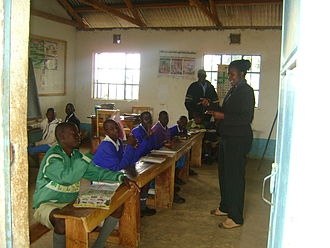 Deaf education - Class for deaf students in Kayieye, Kenya