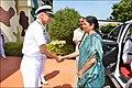 Defence Minister Nirmala Sitharaman visits INS Parundu and INS Kattabomman (1).jpg