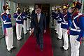 Defense.gov News Photo 120424-D-TT977-184 - Secretary of Defense Leon E. Panetta departs the Brazilian Ministry of Defense in Brasilia Brazil April 24 2012. Panetta is on a five-day trip to.jpg