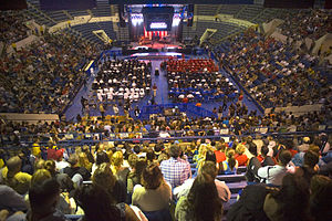 Clune Arena - Image: Defense.gov photo essay 110521 F 3646G 265