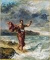 Delacroix - Demosthenes übt sich am Meeresstrand im Deklamieren, um 1860.jpg